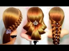 Top 6 Amazing Hairstyles Tutorials Compilation 2018 😜 HAIR Tutorial: how to do quick & easy, side bun hairstyles for everyday, prom & wedding. Cute Hairstyles Updos, Easy Hairstyles For Long Hair, Wedding Hairstyles, Updo Hairstyle, Beautiful Hairstyle For Girl, Easy And Beautiful Hairstyles, Medium Long Hair, Medium Hair Styles, Long Hair Styles