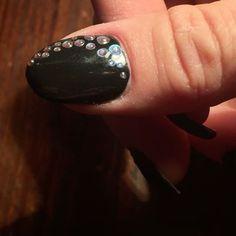 #nails #nailsart #gelnails #nailart💅 #black #blacknails #mırrorpowder #mirrorpowdergel #drops