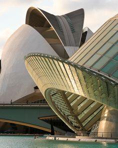 'City of Arts and Sciences - Santiago Calatrava' ~ 'The City of Arts and Sciences is in Valencia, Spain.