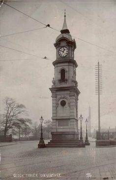 Wavertree clock 1904