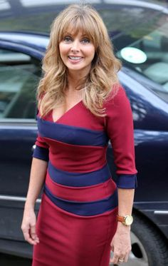 - Carol Vorderman at the London Studios October Sexy Older Women, Sexy Women, Carol Vordeman, Carol Kirkwood, Beautiful Women Over 40, Tv Presenters, Voluptuous Women, Plus Size Fashion For Women, How To Look Better