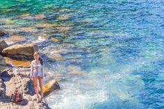 지중해를 품은 친퀘테레 Landscape Pictures, Waves, Outdoor, Outdoors, Scenery Paintings, Landscape Photos, Ocean Waves, Outdoor Games, The Great Outdoors