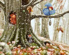 First snow by Ansheen.deviantart.com on @DeviantArt