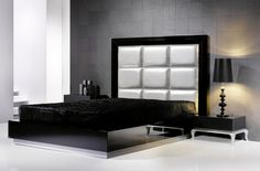 White and grey bedroom theme - Contemporary Headboard Ideas for your Modern Bedroom