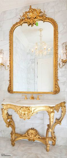Luxurious Powder Room