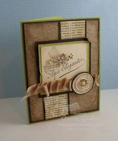 So so Elegant (SSC225) by Carriejoe - Cards and Paper Crafts at Splitcoaststampers