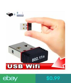 $0.99 - Ultra-Small Wifi Wireless 150Mbps Usb 2.0 Adapter 802.11N 150M Network Lan Card #ebay #Electronics Wireless Lan, Wifi, Usb Flash Drive, Electronics, Cards, Ebay, Products, Maps, Playing Cards