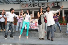 Claudia Ciesla & star cast of Punjabi Film visited LPU