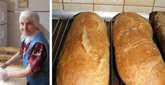 Tento recept má hodnotu zlata: 7-dňový chlebíček podľa mojej babičky: Taký chleba v obchode nekúpite, vydrží vám mäkký celý týždeň - snadnejidlo Thing 1, Ciabatta, Bread Rolls, Dumplings, Baguette, Food To Make, Food And Drink, Yummy Food, Baking