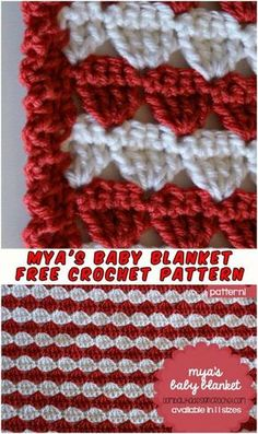 Mya's Blanket - Baby Free Crochet Pattern - STYLESIDEA