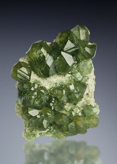 Demantoid Garnet from Antetezambato, Antsiranana Province, Madagascar