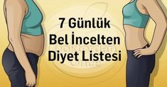 7 Günlük Diyet Listesi Adolescence, Diet And Nutrition, Pilates, Detox, Medical, Weight Loss, Lifestyle, Vegetables, Pop Pilates