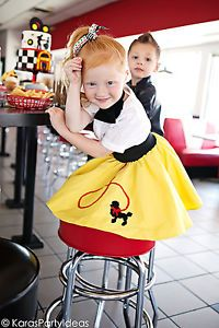 50's sock hop party ideas! 8 fabulous birthday party themes for girls