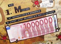 Mamapias-Stempelecke: Die erste Million... zum 60. Geburtstag