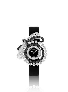Chanel - WATCH IN 18K WHITE GOLD, DIAMONDS AND BLACK DIAMONDS (=)