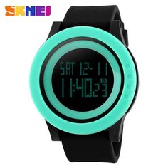 Skmei Acrylic Sports Digital LED Watch