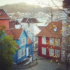 Bergen Norway's Second City and the Gateway to the Fjords. Photo by @lola_vonb on Instagram.