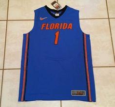 51a957793ad NWT NIKE ELITE Florida Gators NCAA Basketball Jersey  1 Men s Large