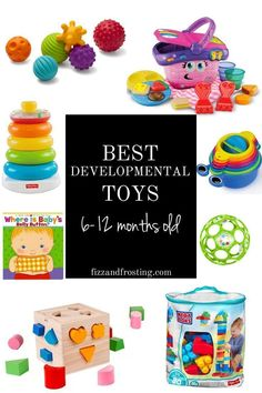The Best Educational Toddler Toys + Baby Games | By Lauren M