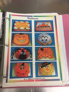 Cake Decorating Piping, Creative Cake Decorating, Cookie Decorating, Decorating Ideas, Giant Cookie Cake, Giant Cupcake Cakes, Cake Cookies, Halloween Sweets, Halloween Cookies