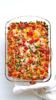 Healthy Dinner Recipes, Cooking Recipes, Low Calorie Breakfast, Dinner For 2, Good Food, Yummy Food, Diet And Nutrition, Tasty Dishes, Macaroni And Cheese