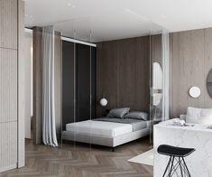 bedroom Home Interior, Interior Architecture, Interior Design, Bedroom Closet Design, Luxurious Bedrooms, Living Room Furniture, Furniture Design, Modern, House