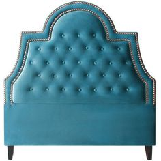 Showcasing elegant button tufting and bold nailhead trim, this dramatic headboard brings a dash of style to your master suite or guest room....