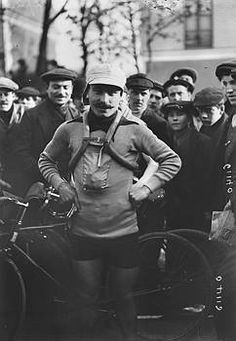 Octave Lapize Tour de France winner 1910