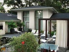 Sophisticated modern contemporary home in Georgia approximately 6500 sq.ft of living space in a fine mix of architecture.