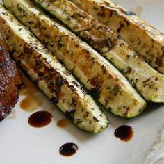 #Balsamic Grilled #Zucchini www.swisshealthmed.de