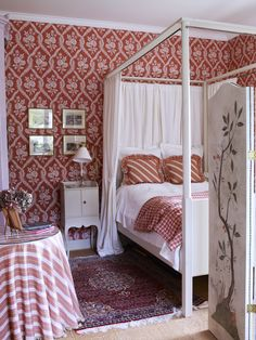 Beautiful Nordic Style Drapery And Window Coverings Cama Ikea, Ikea Bed, Cozy Bedroom, Bedroom Decor, Bedroom Ideas, Country Interior, Red Rooms, Scandinavian Furniture, Nordic Style