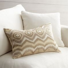 """Anatola Ivory 24""""x16"""" Pillow in New Accessories 