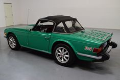 This was the last year for the production and this vehicle is a very rare example of every option you could get including the outstanding Java green. Classic Sports Cars, Classic Cars, Import Cars, Old Cars, Vintage Cars, Dream Cars, Automobile, British, Awesome
