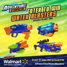 Enter the #PrimeTimeWaterBlaster #giveaway going on May 2017 at Enter the #PrimeTimeWaterBlaster 2017 Summer #giveaway this May w/ 28 blasters! Now go... bit.ly/2oQjYlW