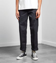 Dickies 873 Work Pant Size is part of Dickies pants - Dickies 873 Work Pant find out more on our site Find the freshest in trainers and clothing online now Workwear Fashion, Fashion Moda, Fashion Wear, Fashion Pants, Mens Fashion, Converse Outfits, Converse Style, Converse 70s, 70s Outfits