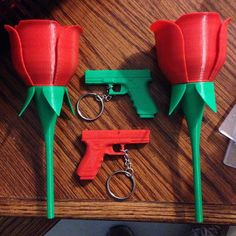 Something we liked from Instagram! #3D #3dprint #3dprinted #3dprinter #3dprinting #rose #gun #guns #roses #valentines #makemyday #gunsandroses #red #green #3drose #3dgun #keychain #homemade #technology #jetsons #awesome #cool #amazing by leoseamazing check us out: http://bit.ly/1KyLetq