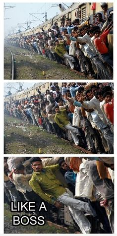 Train Raid In India Like A Boss- Lol Image