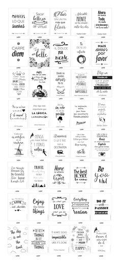 2x1 Láminas De Diseño Con Frases Que Inspiran! Para Imprimir - $ 50,00