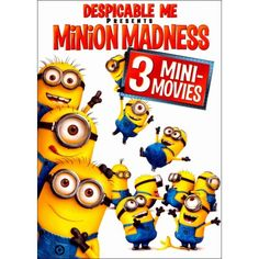 Michael in blu Ray if available - Despicable Me Presents: Minion Madness (DVD) - Larger Front