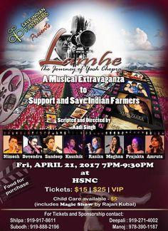 #Lamhe: The Journey of #Yash #Chopra Schedule -Fri, 21 Apr 2017  7:00 PM   http://www.eknazar.com/Events/viewevent-id-116629/lamhe-the-journey-of-yash-chopra.htm