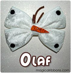 Magical Ribbons - Olaf Bow (Limited Edition)