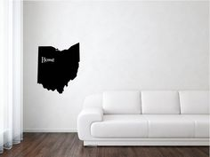 Ohio State, Ohio Decal, Ohio Vinyl, United States, State Decal, Vinyl, Adhesive Vinyl, Removable Vinyl, Matte Vinyl, Decals, Decal by wildoakvinyl on Etsy