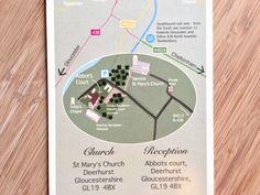 Br&newweddings / Bespoke Wedding Stationery / Wedding Invitation / wedding map / Floral Wedding / South African Wedding / Shabby Chic Wedding / Wild Meadow Wedding / www.brandnewweddings.co.uk