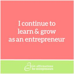 Affirmations for Self Employed Women  #ecoacherin #coacherinsaffirmations #womenbusinessowners  affirmations for women business owners http://www.ecoacherin.com/insights