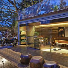 Balcon, Veranda & Terrasse rustiques par Cristina Menezes Arquitetura