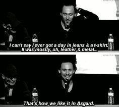 Tom Hiddleston @Elisabeth Magnus @Marissa Beckwith