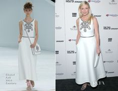 Kirsten Dunst In Chanel Couture - 'The Two Faces Of January' New York Premiere - Red Carpet Fashion Awards