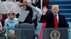 With those words from Chief Justice John Roberts, Donald Trump has been sworn-in as the 45th president of the United States. Trump, a real estate mogul and reality television star who upended Ameri…