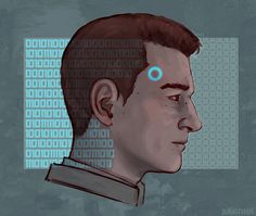 Detroit become human Connor art