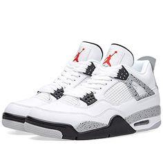 Jordan Air 4 Retro OG Cement Men's Shoes White/Fire Red/Black/Tech Grey 840606-192 (11 D(M) US)